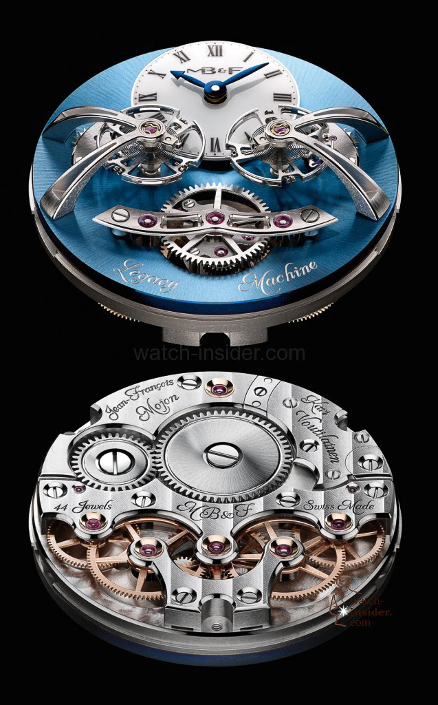 www.watch insider.com | videos reportages news  | Max Büsser strikes again! Have a look at the MB&F Legacy Machine No. 2 | LM2 P Engine Lres 637x1024
