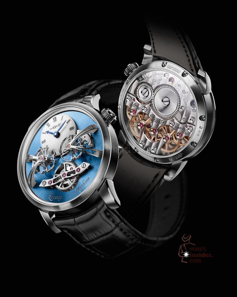 www.watch insider.com | videos reportages news  | Max Büsser strikes again! Have a look at the MB&F Legacy Machine No. 2 | LM2 P Lres 819x1024