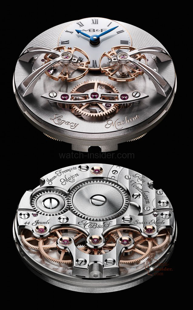 www.watch insider.com | videos reportages news  | Max Büsser strikes again! Have a look at the MB&F Legacy Machine No. 2 | LM2 RG Engine Lres 637x1024