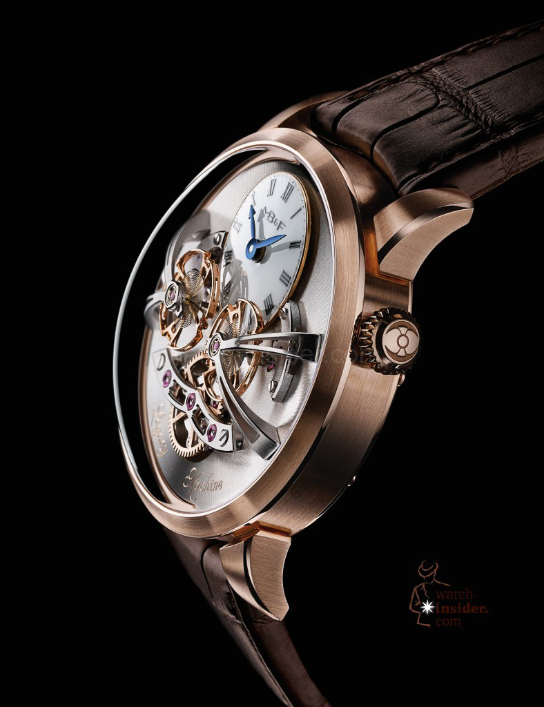 www.watch insider.com | videos reportages news  | Max Büsser strikes again! Have a look at the MB&F Legacy Machine No. 2 | LM2 RG Profile Lres 788x1024