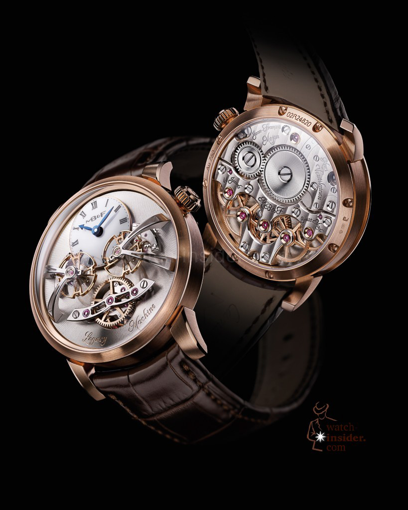 www.watch insider.com | videos reportages news  | Max Büsser strikes again! Have a look at the MB&F Legacy Machine No. 2 | LM2 RG Lres 819x1024