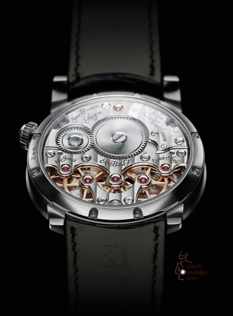 www.watch insider.com | videos reportages news  | Max Büsser strikes again! Have a look at the MB&F Legacy Machine No. 2 | LM2 WG Back Lres 757x1024