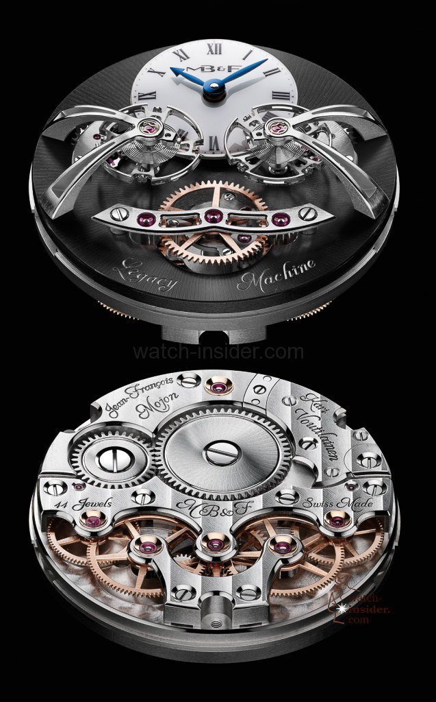www.watch insider.com | videos reportages news  | Max Büsser strikes again! Have a look at the MB&F Legacy Machine No. 2 | LM2 WG Engine Lres 637x1024