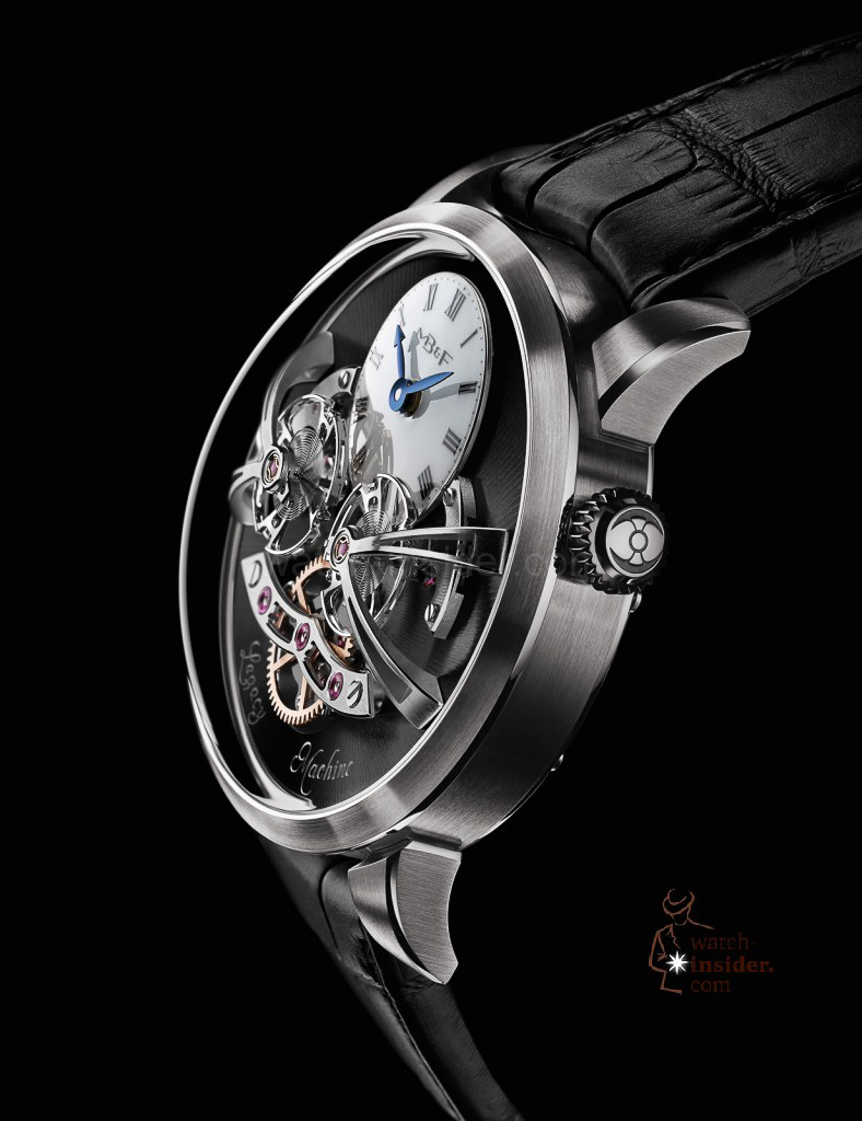 www.watch insider.com | videos reportages news  | Max Büsser strikes again! Have a look at the MB&F Legacy Machine No. 2 | LM2 WG Profile Lres 788x1024