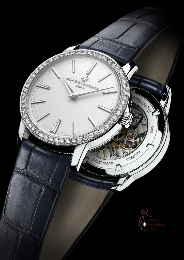 www.watch insider.com | reportages  | It's ladies' time. My personal top 15 ladies watches 2013 | Vacheron Constantin Patrimony Lady 724x1024