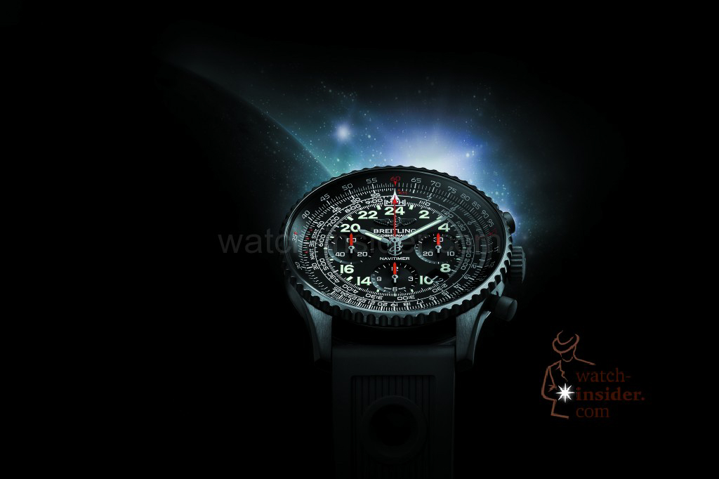 www.watch insider.com | news  | Cool or not cool? The new Breitling Navitimer Cosmonaute Blacksteel versus its classical edition | br14240c prnavitimercosmonauteblacksteel prod 1024x682