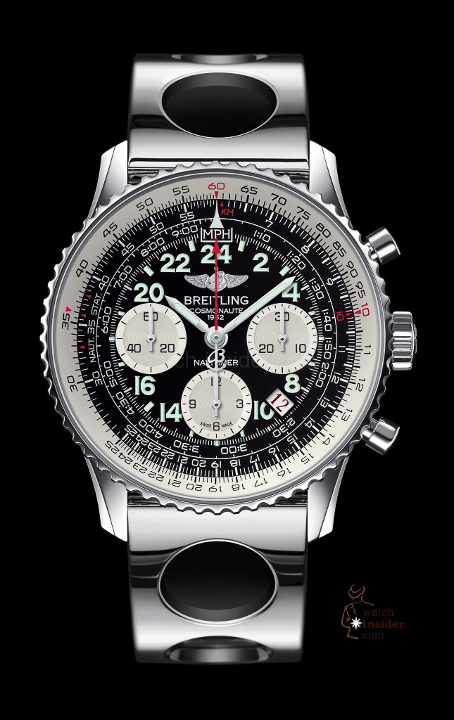 www.watch insider.com | news  | Cool or not cool? The new Breitling Navitimer Cosmonaute Blacksteel versus its classical edition | chr13 navitimer cosmonaute 3 645x1024