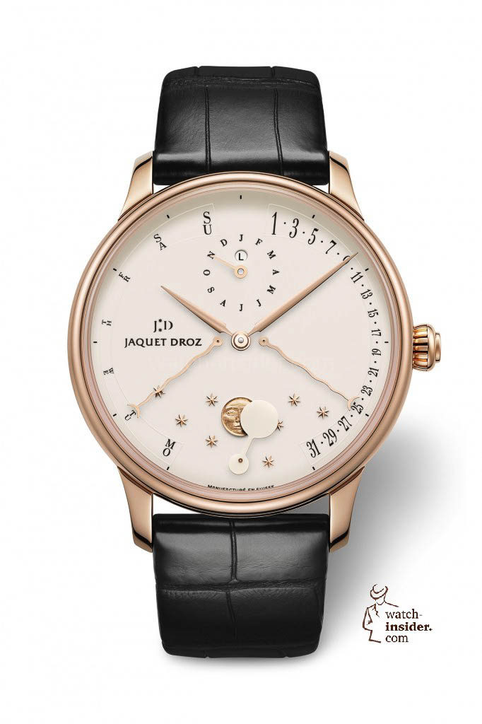 www.watch insider.com | news  | The Perpetual Calendar Éclipse by Jaquet Droz | J030533201 PERPETUAL CALENDAR ECLIPSE IVORY ENAMEL HR 682x1024