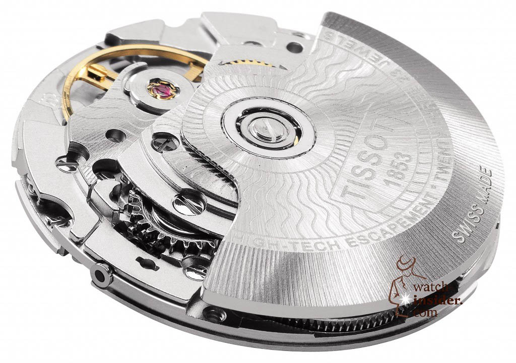 www.watch insider.com | reportages news  | The Tissot Powermatic 80 Automatic caliber is ushering in a new era of ultra precise low cost mechanical movements | MOUVEMENT 1 LUXURY 1024x720