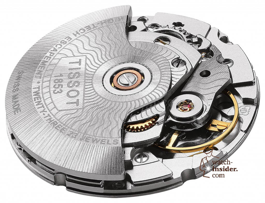 www.watch insider.com | reportages news  | The Tissot Powermatic 80 Automatic caliber is ushering in a new era of ultra precise low cost mechanical movements | MOUVEMENT 2 LUXURY 1024x785