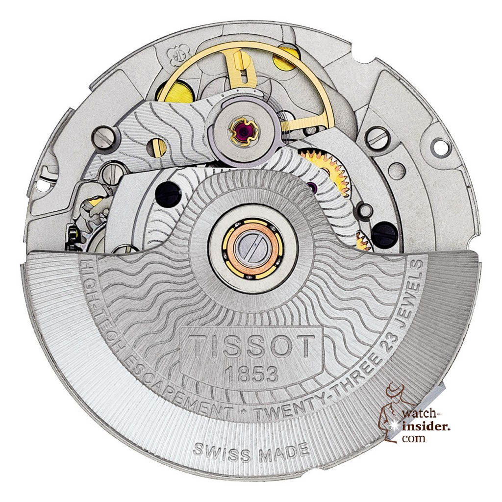 www.watch insider.com | reportages news  | The Tissot Powermatic 80 Automatic caliber is ushering in a new era of ultra precise low cost mechanical movements | MOUVEMENT FACE LUXURY 1024x1024