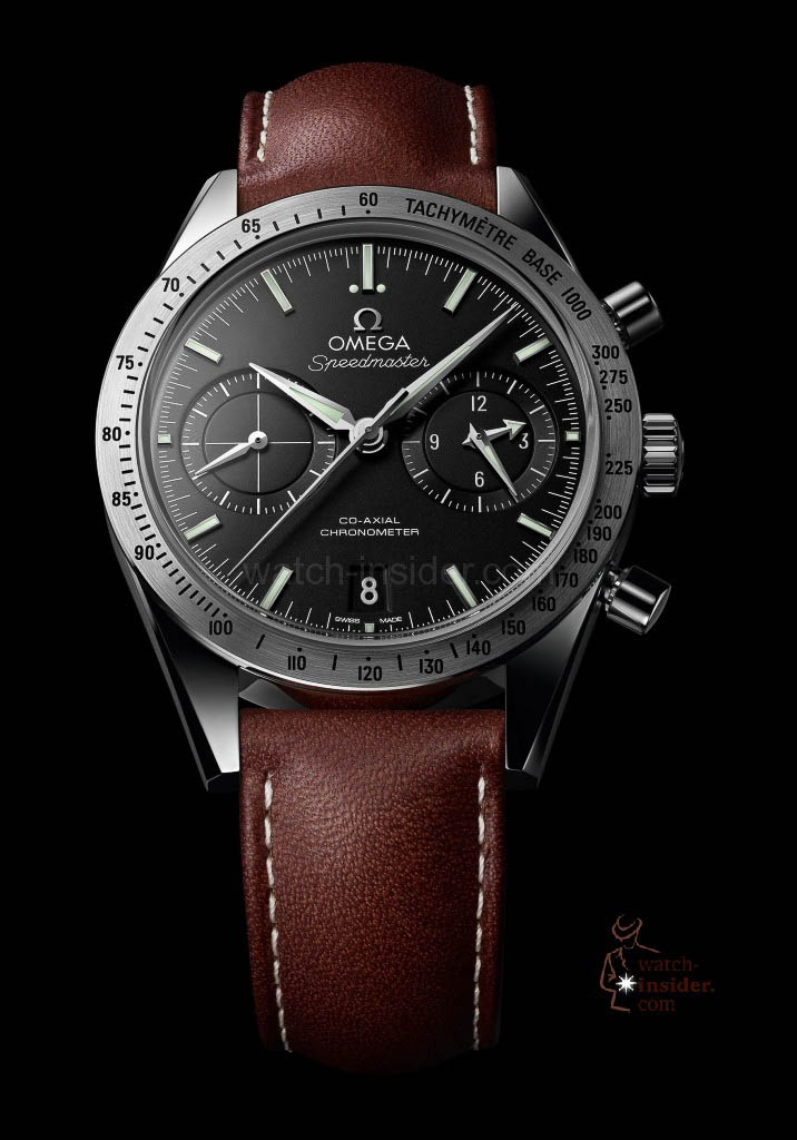 The omega speedmaster 57 co axial chronograph watch for Omega watch speedmaster