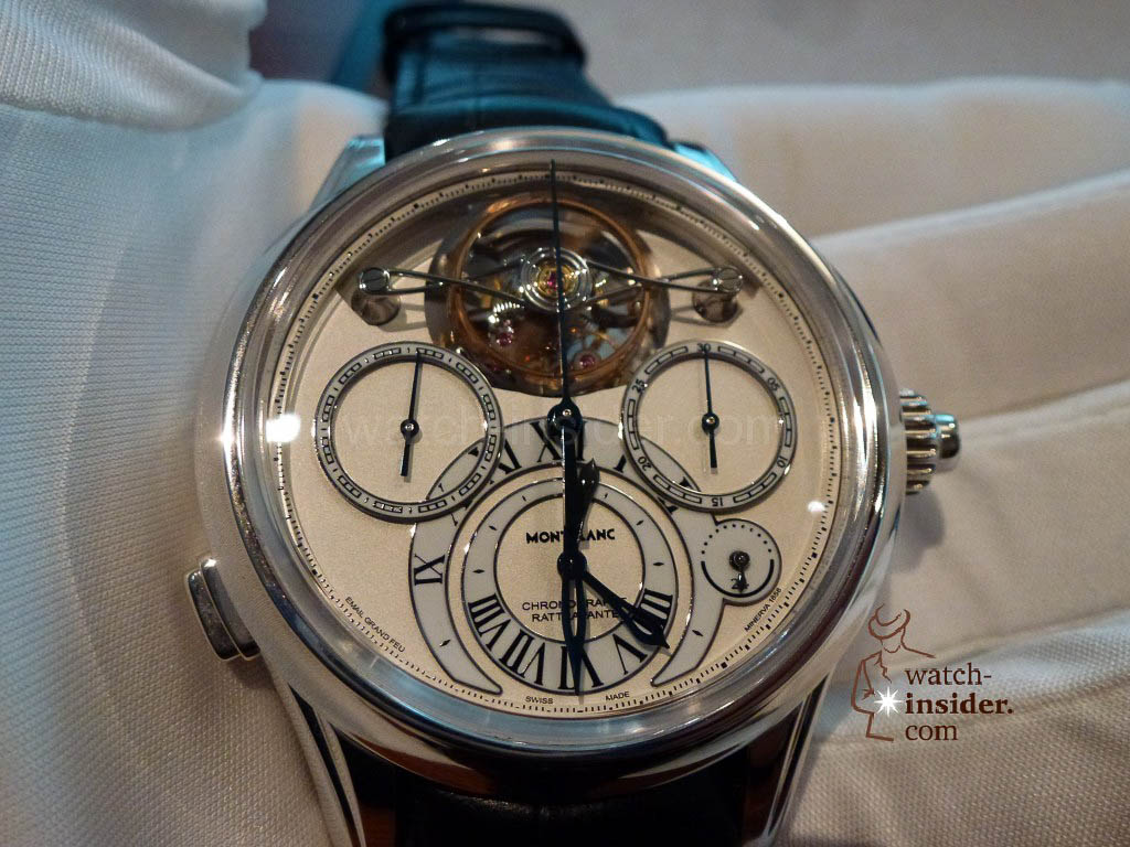 www.watch insider.com | videos reportages news  | I just had my hands on the Montblanc Collection Villeret 1858 ExoTourbillon Rattrapante | P1000221 1024x768