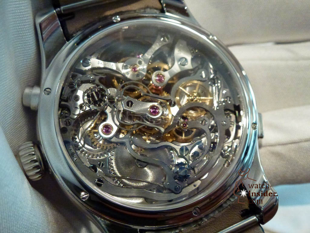www.watch insider.com | videos reportages news  | I just had my hands on the Montblanc Collection Villeret 1858 ExoTourbillon Rattrapante | P1000226 1024x768