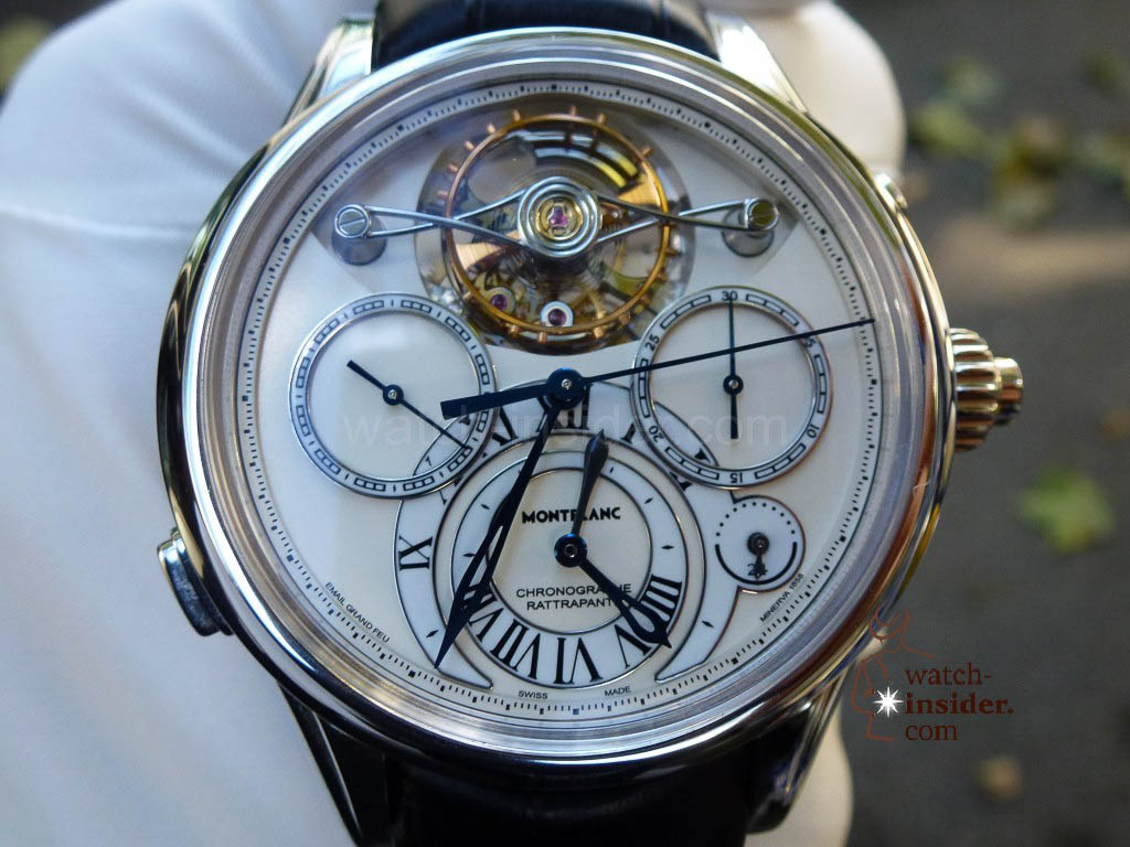 www.watch insider.com | videos reportages news  | I just had my hands on the Montblanc Collection Villeret 1858 ExoTourbillon Rattrapante | P1000232 1024x768