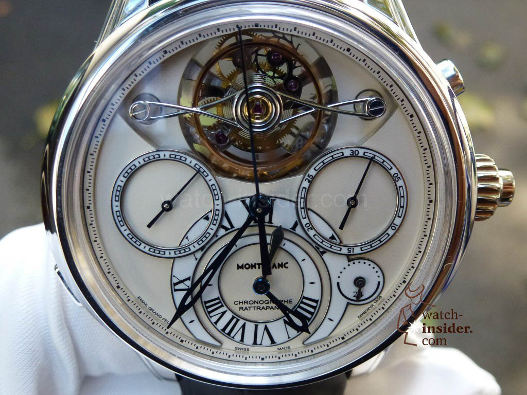 www.watch insider.com | videos reportages news  | I just had my hands on the Montblanc Collection Villeret 1858 ExoTourbillon Rattrapante | P1000236 1024x768