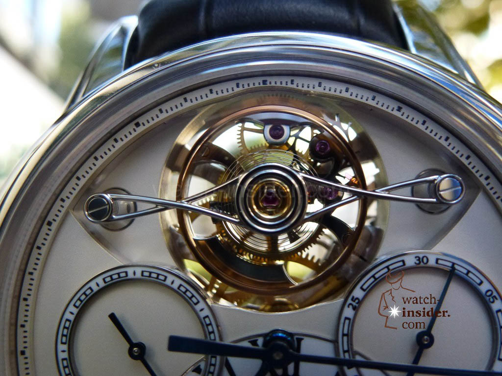 www.watch insider.com | videos reportages news  | I just had my hands on the Montblanc Collection Villeret 1858 ExoTourbillon Rattrapante | P1000239 1024x768