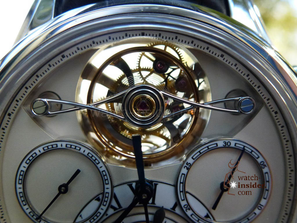 www.watch insider.com | videos reportages news  | I just had my hands on the Montblanc Collection Villeret 1858 ExoTourbillon Rattrapante | P1000240 1024x768