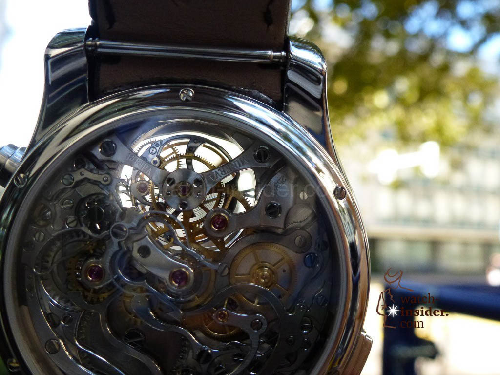 www.watch insider.com | videos reportages news  | I just had my hands on the Montblanc Collection Villeret 1858 ExoTourbillon Rattrapante | P1000241 1024x768