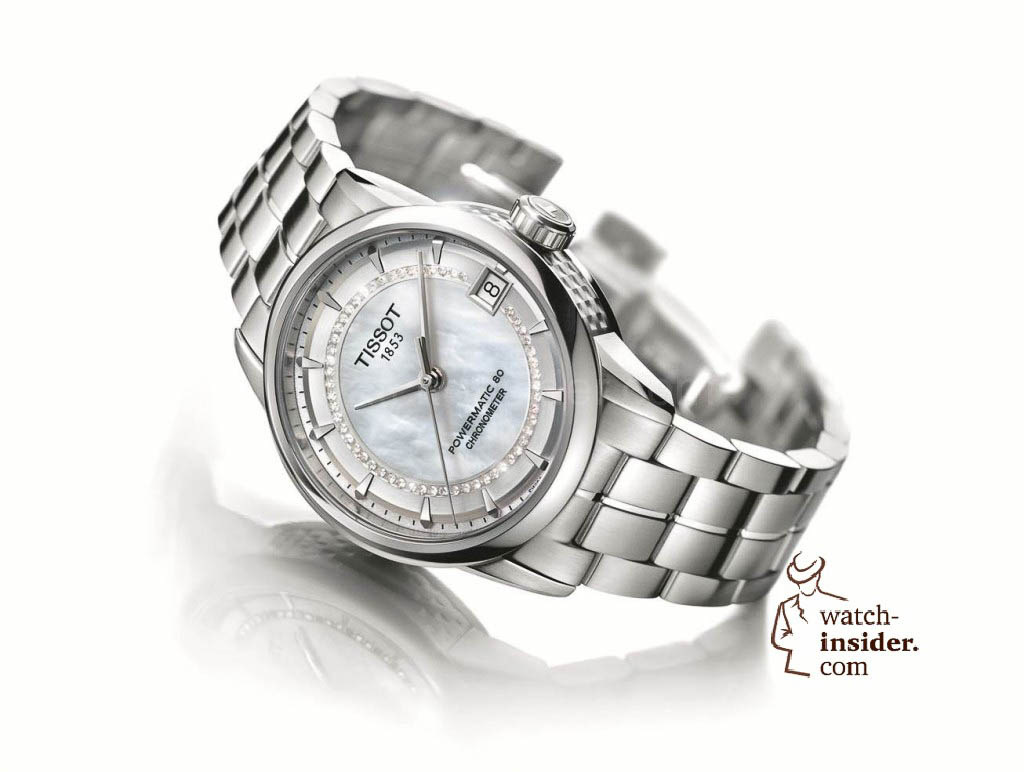 www.watch insider.com | reportages news  | The Tissot Powermatic 80 Automatic caliber is ushering in a new era of ultra precise low cost mechanical movements | Tissot Luxury COSC Lady 1024x772