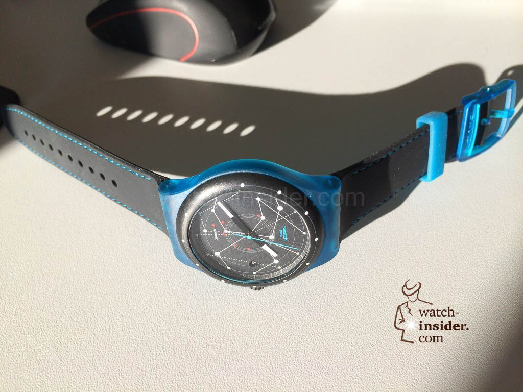 Swatch Sistem51 Blue SUTS401
