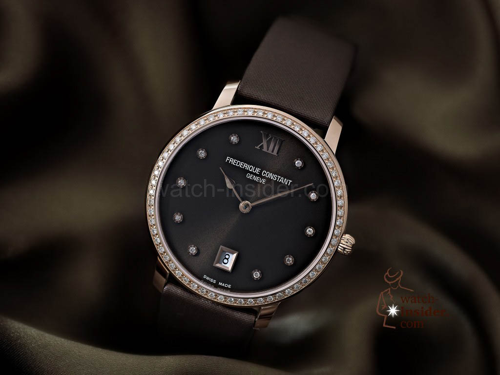 Frederique Constant_Slimline Joaillerie Collection