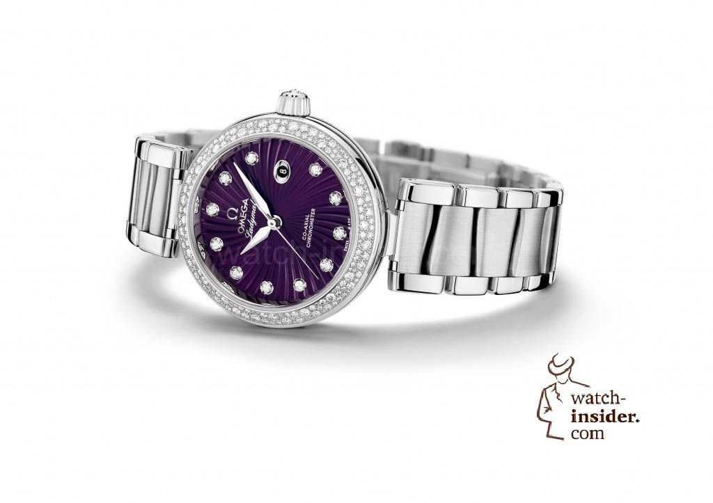 Omega Ladymatic purple