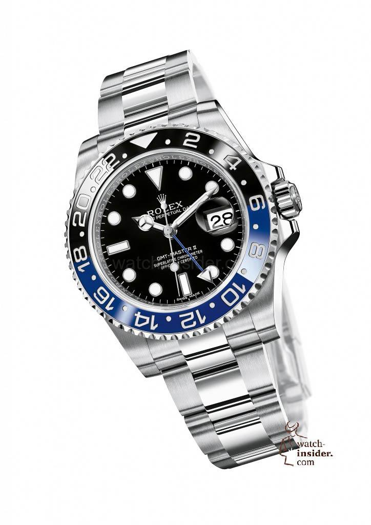 Rolex GMT-Master II 904L steel