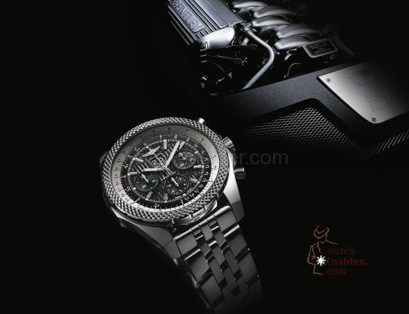 Breitling for Bentley 6.75 Midnight Carbon - dashboard background