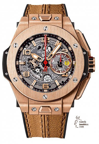 Hublot BIG BANG FERRARI KING GOLD