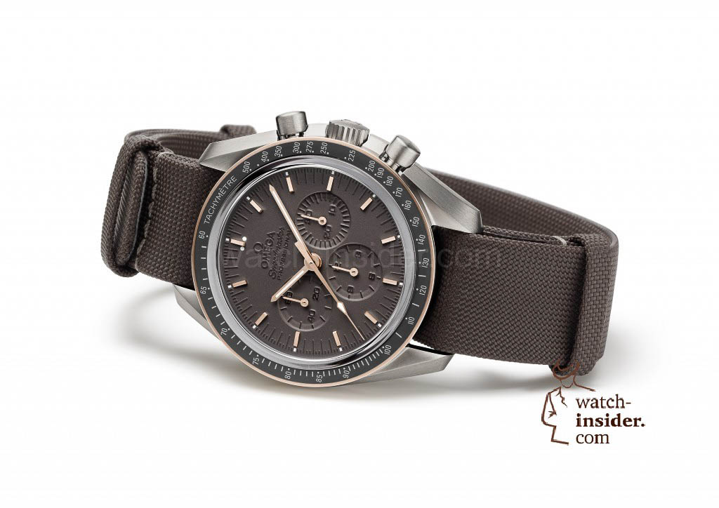 Omega Speedmaster Moonwatch Apollo 11 - reclining
