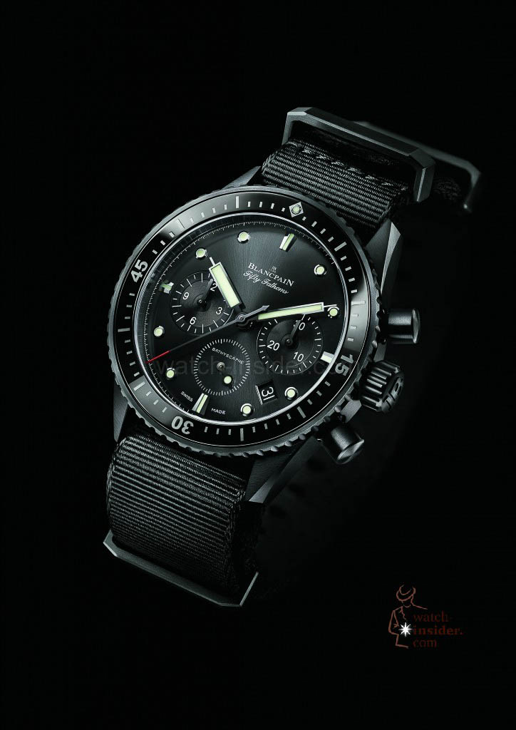 Blancpain Fifty Fathoms Bathyscaphe Chronographe
