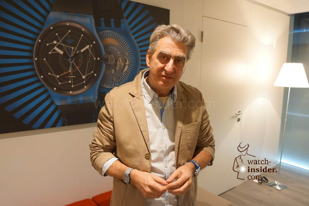 Nick Hayek, President of the Executive Group Management Board and member of the Board of Directors of Swatch Group.