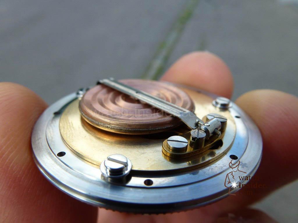 Oris Big Crown ProPilot Altimeter - mechanical altimeter - back