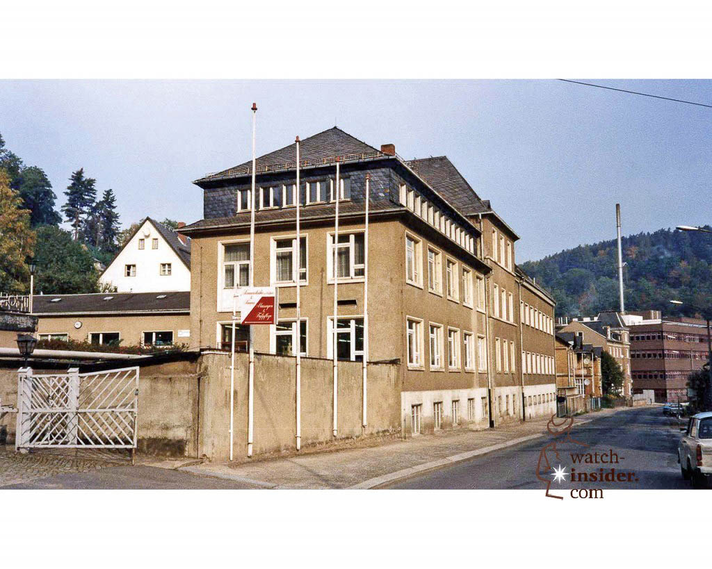 Glashütte, the A. Lange & Söhne manufactory building 1994