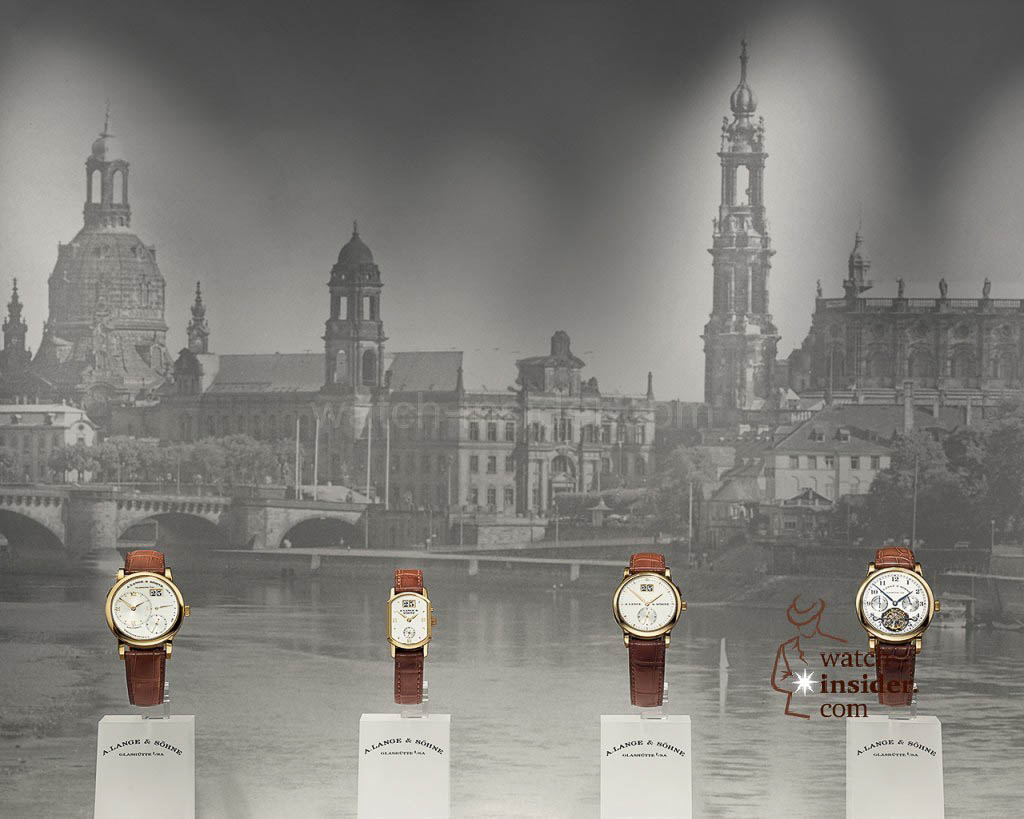 The first A. Lange & Söhne collection from 1994