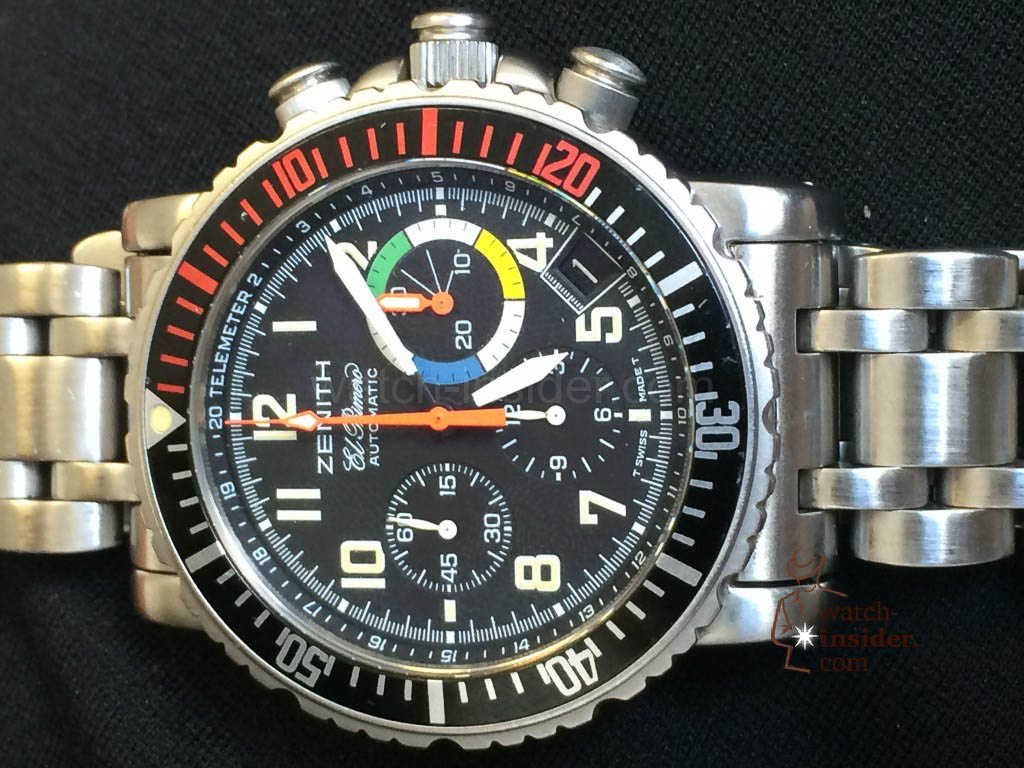 Zenith Rainbow Chronograph Fly Back from 1997