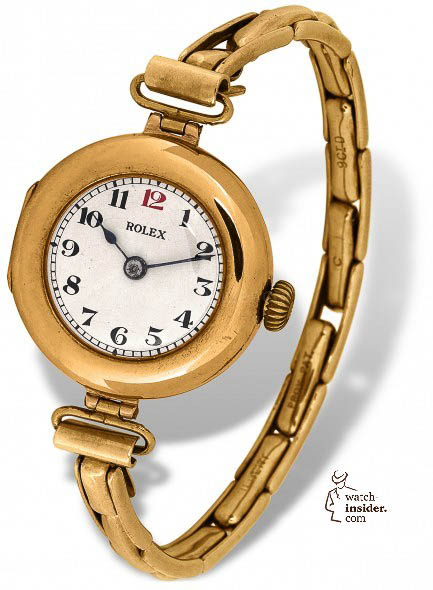 The 1914 Kew certified Rolex wristwatch Chronometer
