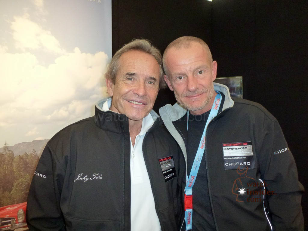 """Monsieur Le Mans"" Jacky Ickx and Alexander Linz"
