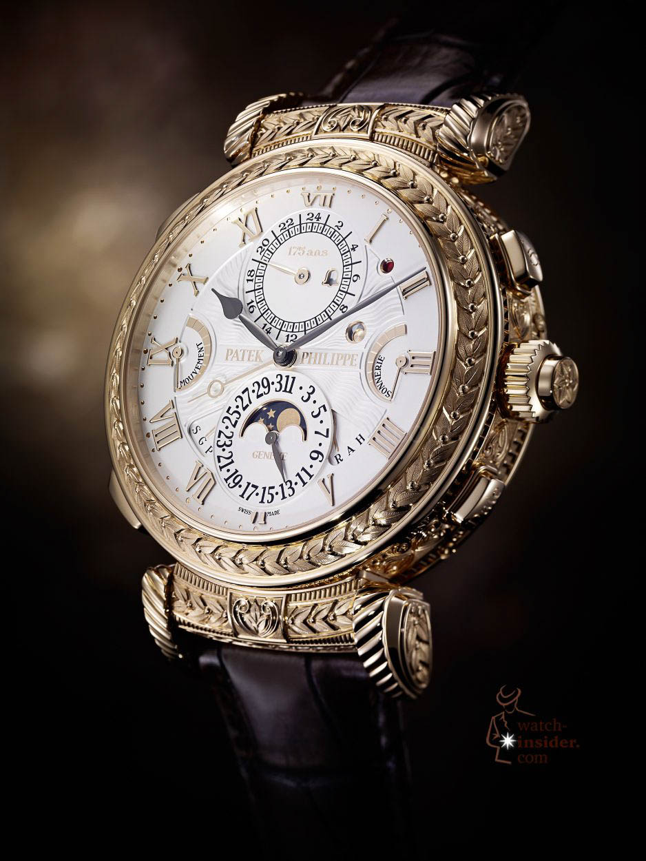 This is my deep insight into the patek philippe grandmaster chime ref 5175 watch for Patek phillipe watch