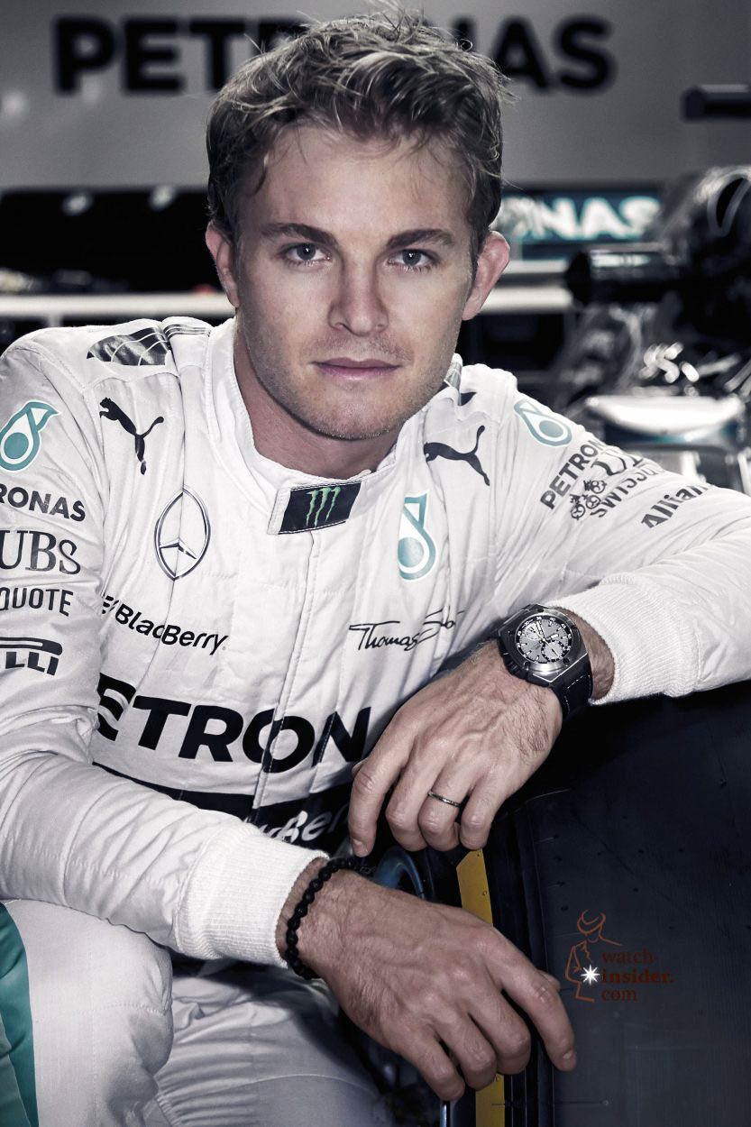 lewis hamilton versus nico rosberg this time it is not about formula one racing but two iwc. Black Bedroom Furniture Sets. Home Design Ideas