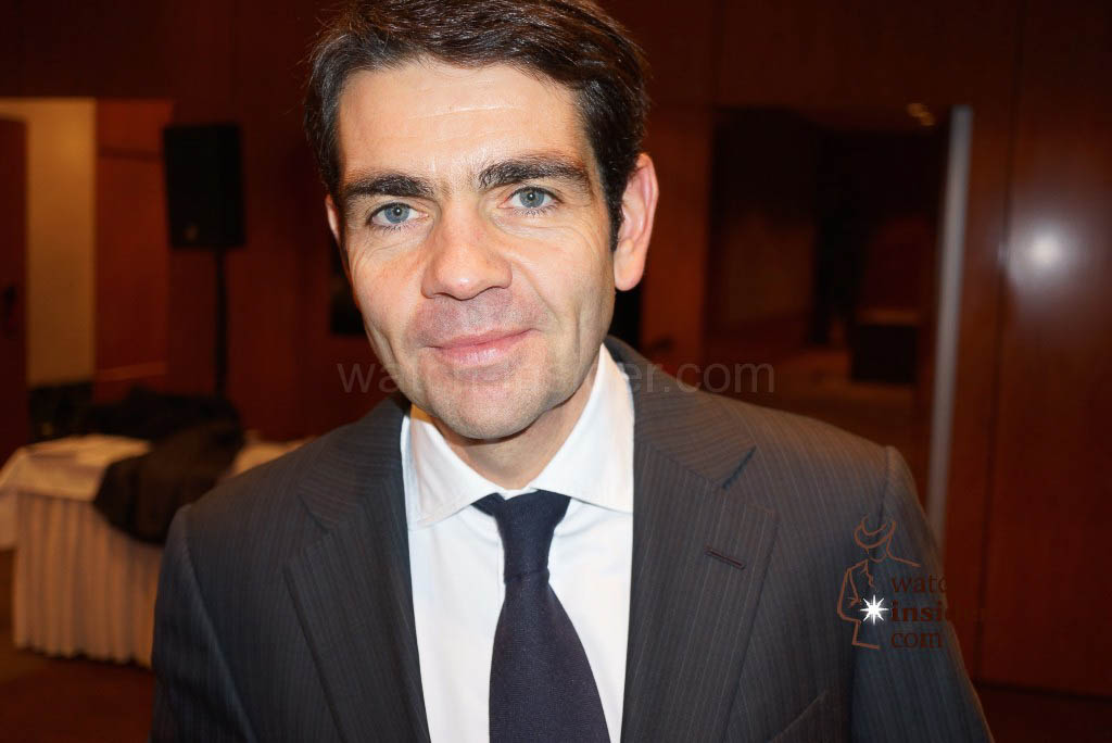Jerome Lambert, Montblanc CEO, & e-Strap
