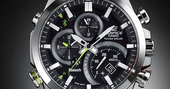 Casio Edifice EQB-500 - Be in touch u2013 stay connected! u2013 Watch ...