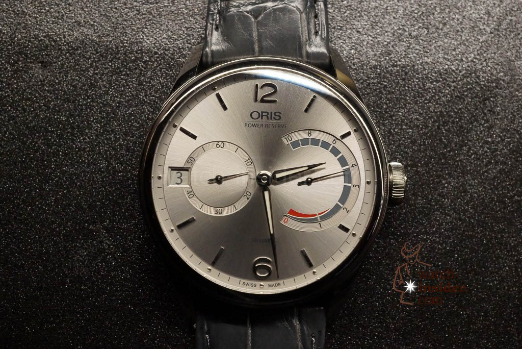 Oris calibre 111 in steel