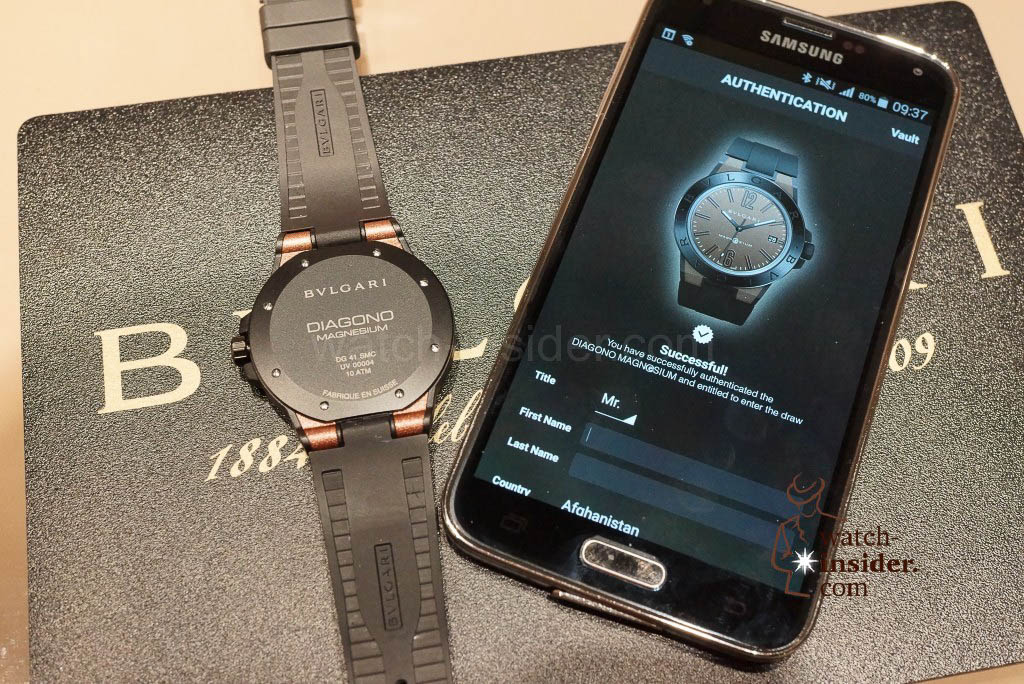 Bulgari Magn@sium and its smartphone