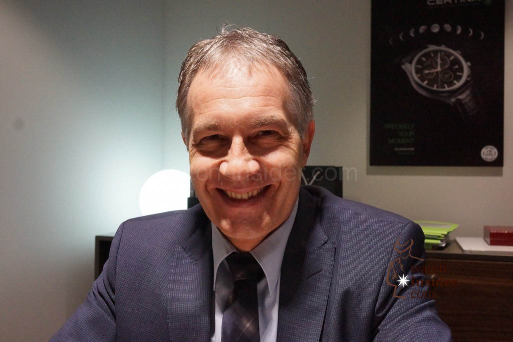 Adrian Bosshard, CEO Certina
