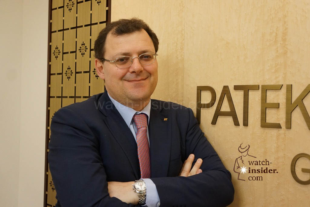 Thierry Stern, President of Patek Philipppe
