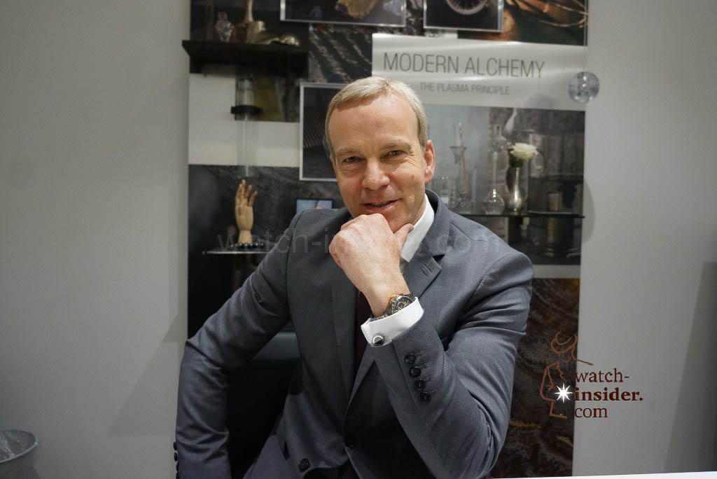 Matthias Breschan, President Rado