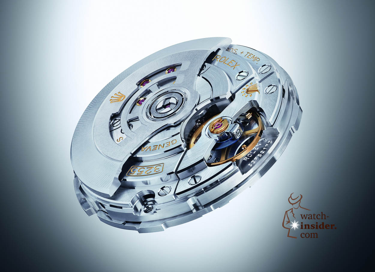 The new Rolex Calibre 3255