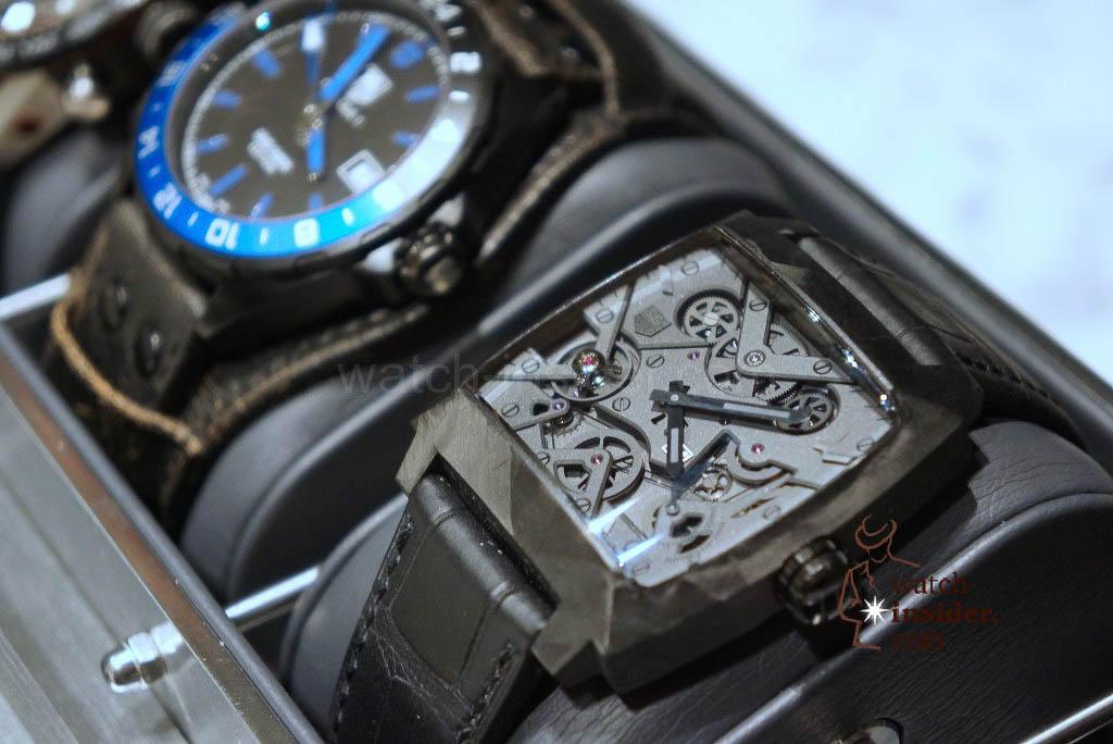 TAG Heuer Formula 1 (43mm) Calibre 7 GMT Special Edition David Guetta and TAG Heuer Monaco V4 Phantom